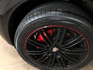 Porsche Cayenne wheel